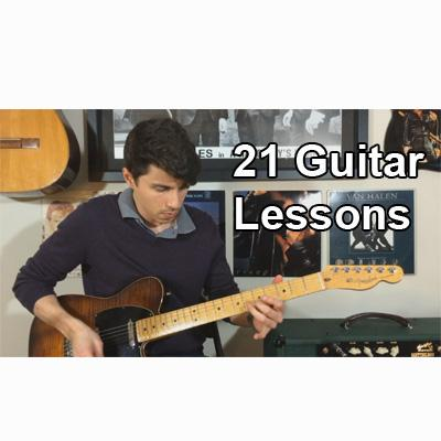 21 Guitar Lessons