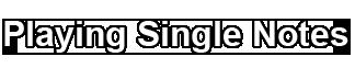 Singlenote