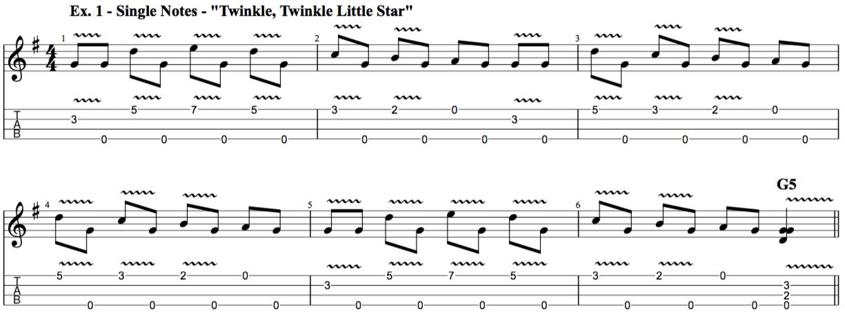 Understanding And Applying Vibrato On Ukulele Rock Class 101